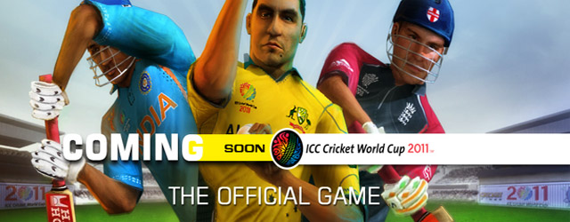 the Official Game for the upcoming ICC Cricket World Cup 2011,