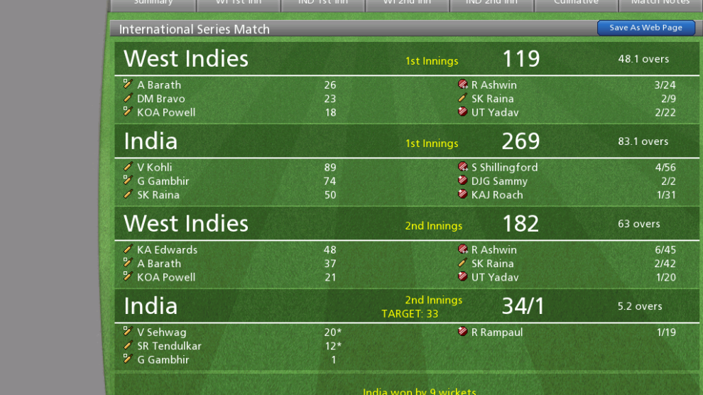 Cricket Coach PC IPL Cricket Game