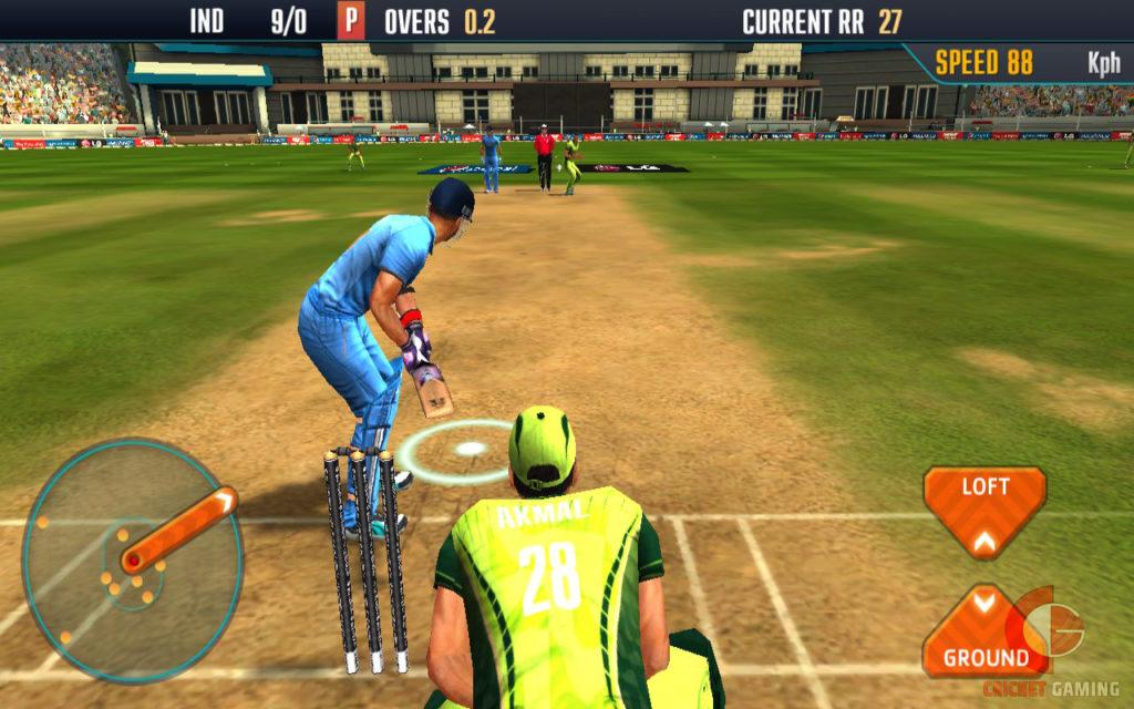 ICC Pro Cricket 2015 Batting