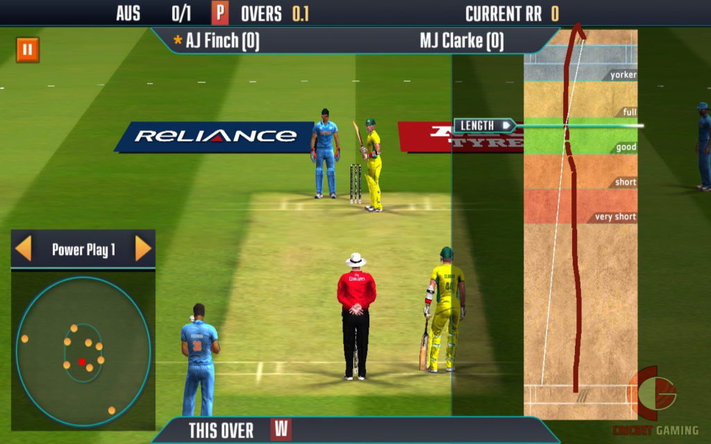 ICC Pro Cricket 2015 Bowling