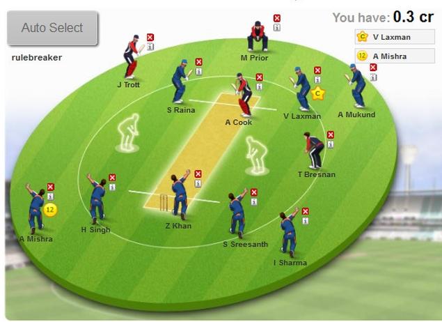 fantasy cricket games