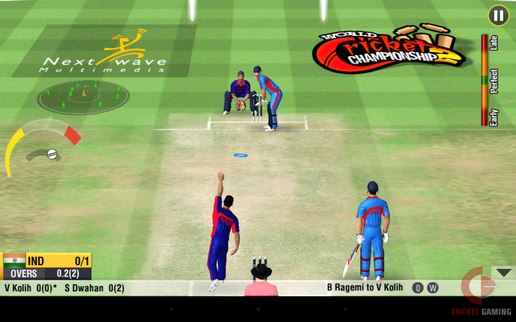 WORLD CRICKET CHAMPIONSHIP 2 screenshots